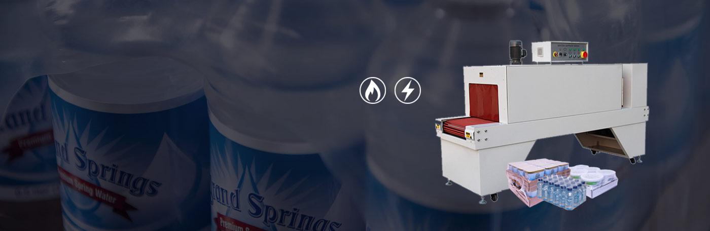 دستگاه شیرینگ پک