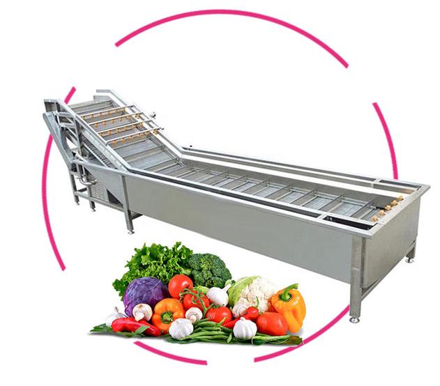 دستگاه شستشوی میوه و سبزیجات صنعتی