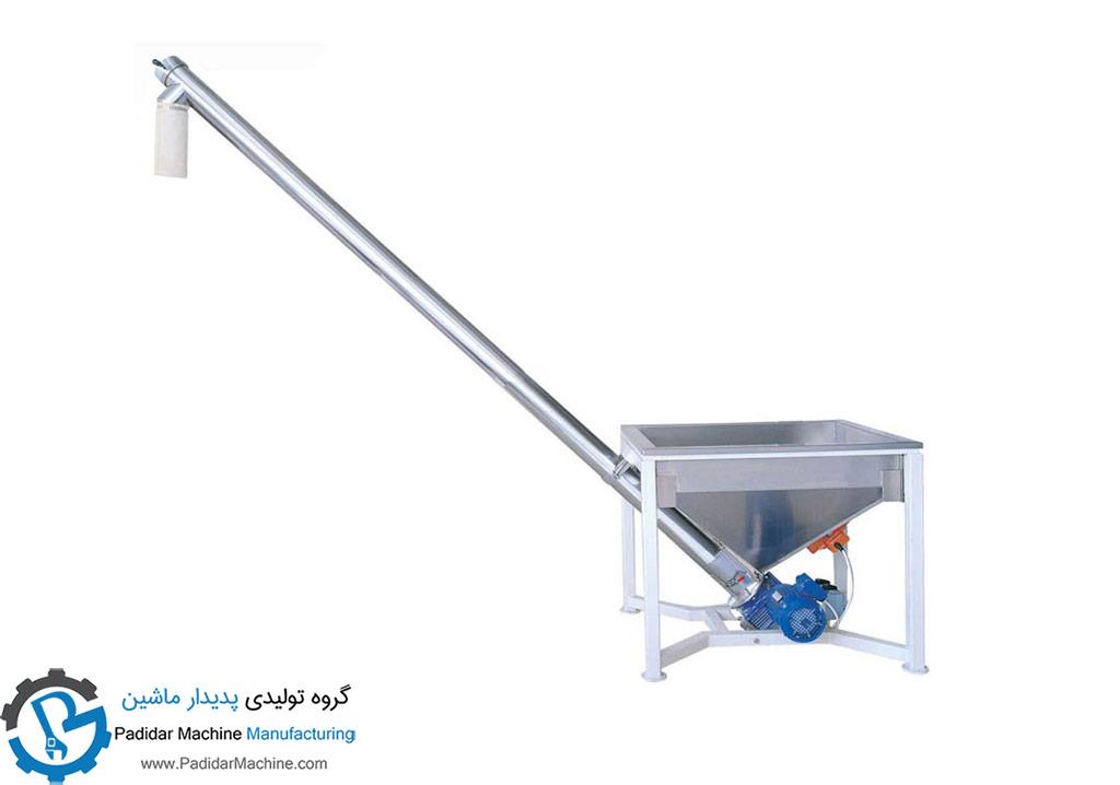 دستگاه انتقال پودر   لوله ای