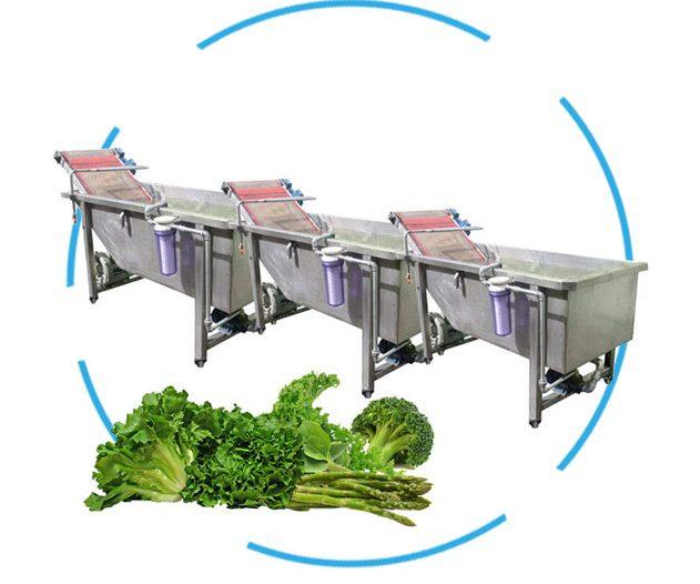 دستگاه شستشوی سبزیجات مرحله ای
